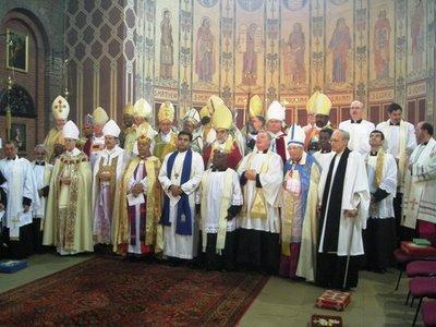 Bispos Anglicanos que agora são Católicos